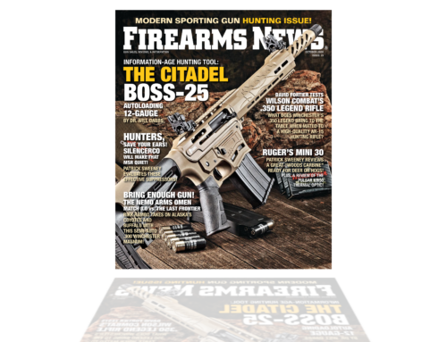 CITADEL BOSS25 Featured on the Front Cover of Firearms News