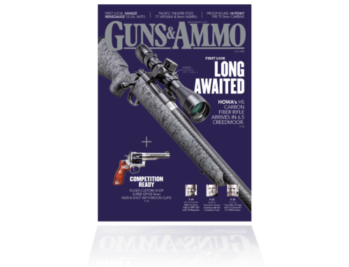 Howa H-S Precision Carbon Fiber Featured on front cover of Guns & Ammo