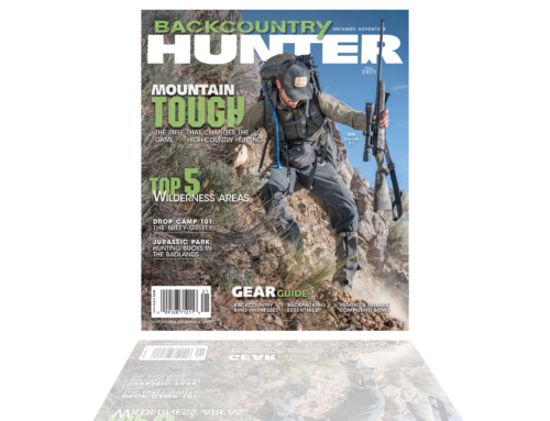 Carbon Stalker Altitude featured on front page of Backcountry Hunter